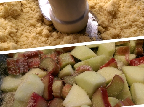 The perfect crumble texture & fruit with their sugar coat