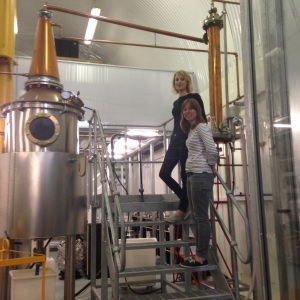 Where the magic happens- Hannah, Anne and the still