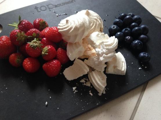 Ingredients - definitely Red, White & Blue