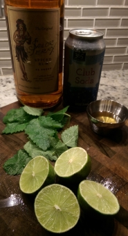 All the ingredients you'll ever need to make a Mojito