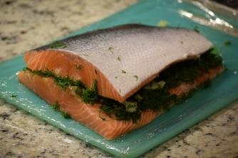 The Salmon Sandwich