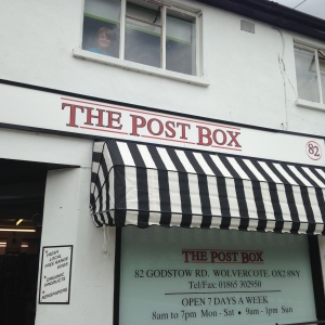 Katie & Karl's shop The Post Box sell some great UK Craft Beer, in Wolvercote, Oxford