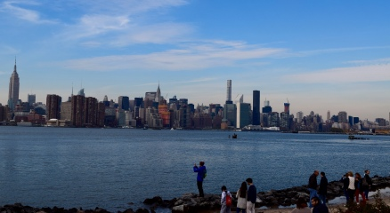 Manhattan skyline from Smorgasborg