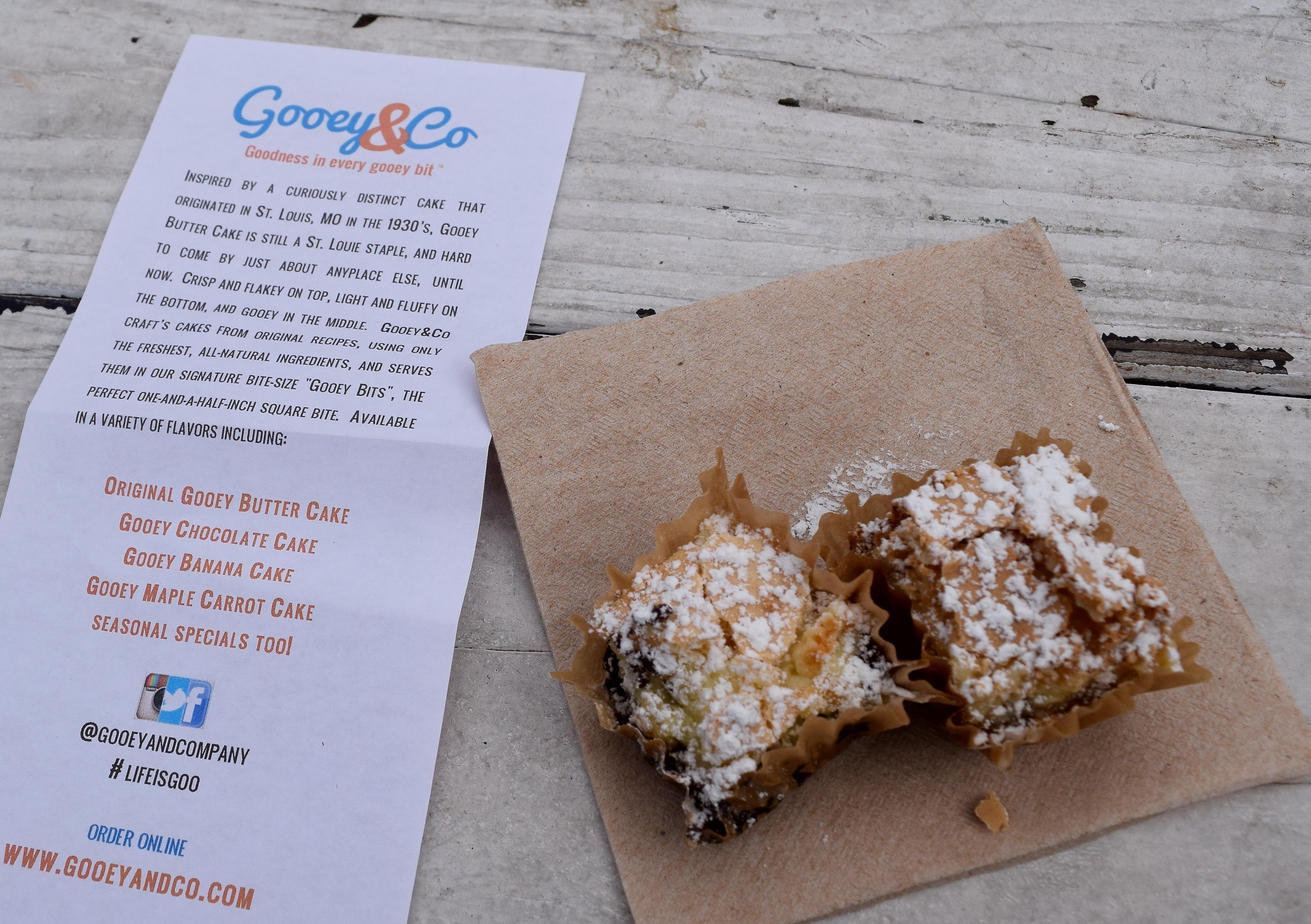 Gooey Butter Cake Smorgasburg