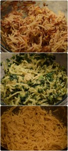 Plain, Carrot & Kale Latke mix