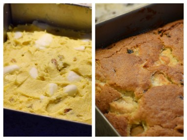 Before & After Baking