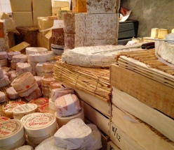 Stacks of Deliciousness in the Cheese Room