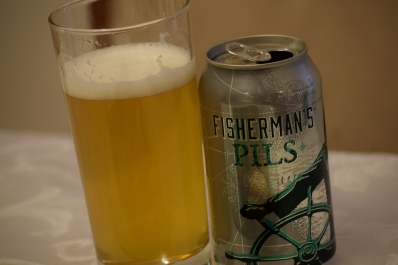 Fisherman's Pils a perfect accompaniment to Spicy Salmon