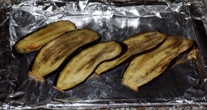Aubergines Roasted