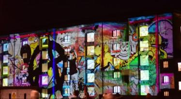 Circus of Light #LumiereLondon Kings Cross