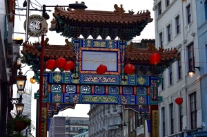 London's Chinatown to buy my ingredients