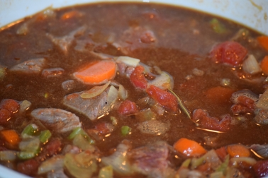 6. Add Tomatoes and the Guinness