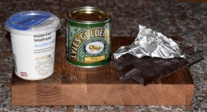Chocolate Fudge Frosting Ingredients