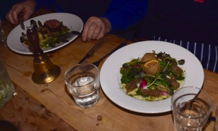 L - R: Lamb & Duck Scotch Egg Mains + Bell - just ring to swap!
