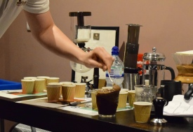 Cupping in Progress