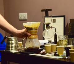 Brewing with a Chemex