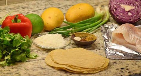 2. Ingredients for both Tacos & Salsa