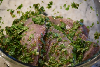 4. Tuna Steaks in the Marinade
