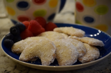 Austrian Crescent Cookies - Melt in your Mouth delight