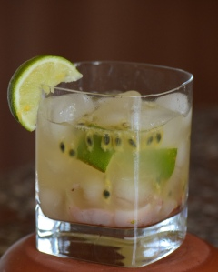 Passionfruit, Lime & Lychee Mocktail - Alcohol Free