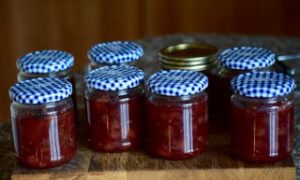 Apple, Pear & Grape Chutney - Fruit from a London Garden