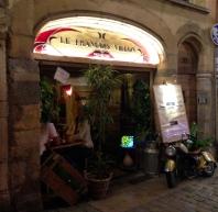 Le Francois Villon restaurant in old Lyon