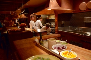 Chez Panisse Café Kitchen in action