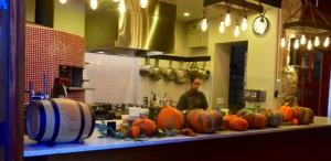 Kitchen in Action at Robert Sinskey, Napa