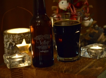 Salopian Vertigo Beer - a match for the Christmas Holiday Season