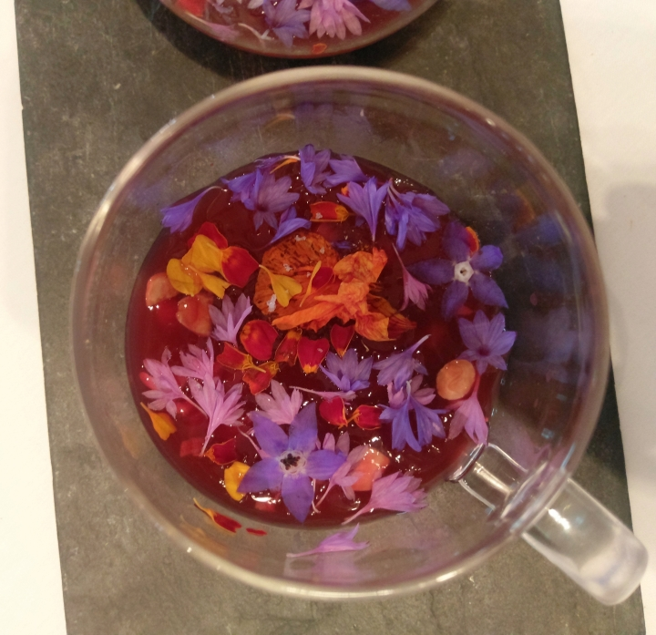 18. Cherry Consomme perfection
