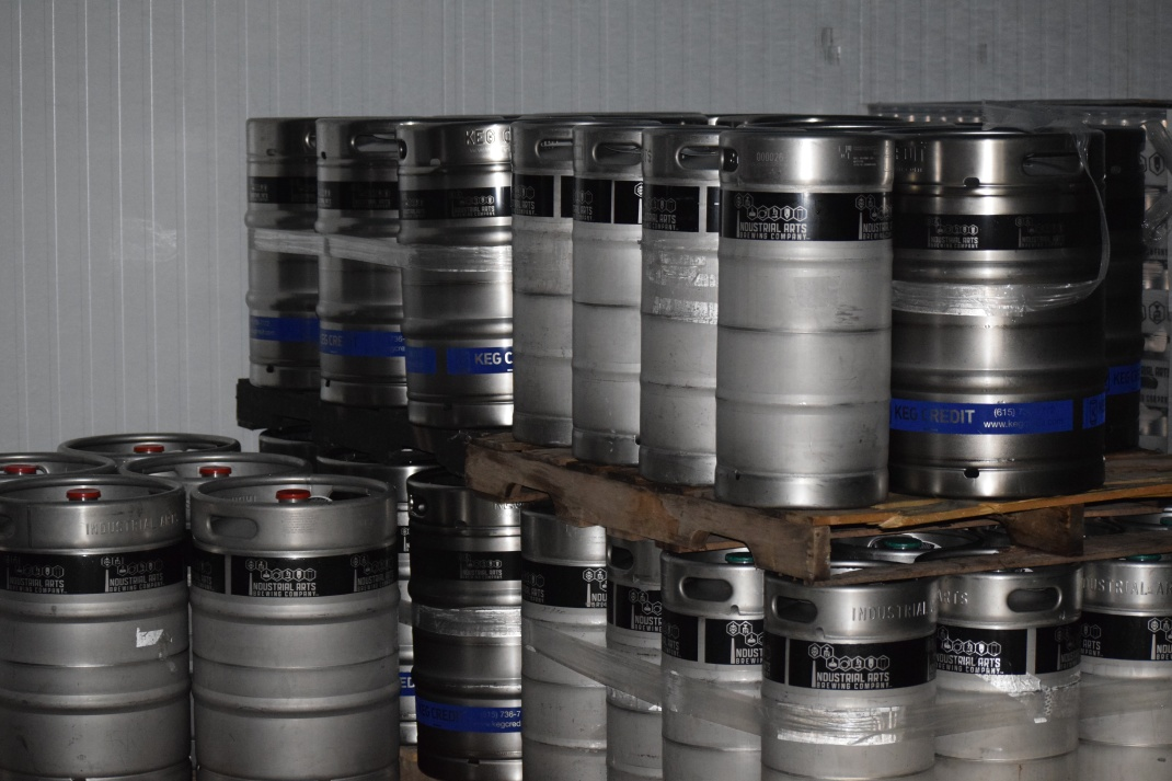 Kegs in the Chiller