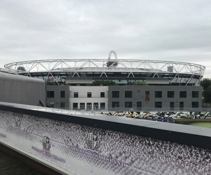 7. View of Olympic Stadium from the Roof of Formans